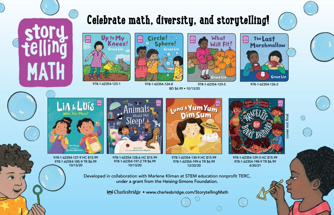 Storytelling Math Announcement